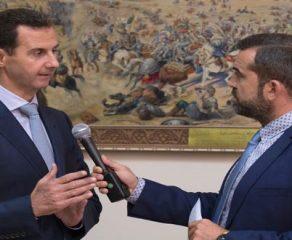 الرئيس الأسد لقناة إي تي في اليونانية:منذ بدء الأعمال الإرهابية في سورية قدمنا للإرهابيين خيار العفو العام إذا كانوا يريدون العودة إلى حياتهم الطبيعية والتخلي عن أسلحتهم ولا نزال نفعل ذلك