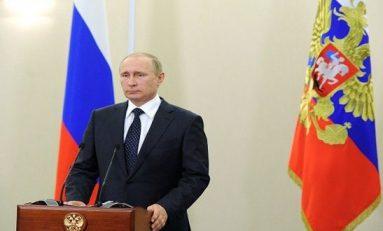 82 بالمئة من المواطنين الروس يؤيدون سياسات ونشاط الرئيس بوتين