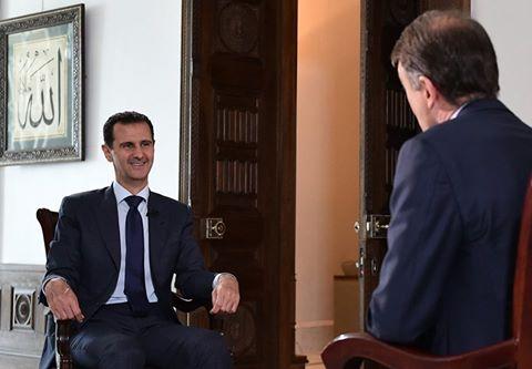الرئيس الأسد لمحطة NBC الامريكية: ننتصر كسوريين إذا تمكّنا من التخلص من الإرهابيين، ومن استعادة الاستقرار في سورية