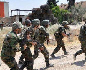 الجيش يوجه ضربات دقيقة إلى تجمعات ومحاور تحرك الإرهابيين في ريفي حمص وحماة الخارجية تدين مجازر أردوغان ومرتزقته في جرابلس: جرائم ضد الإنسانية مكتملة الأركان