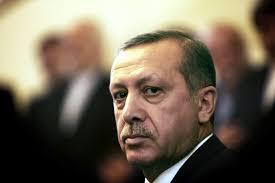 متظاهر تركي لأردوغان: إرهابي إرهابي