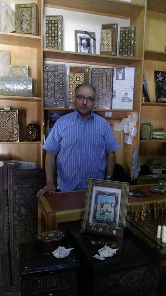 ســـــــــــوريـــــون محمد هشام الحلبي.. أمنيات بسيطة لرجل الصدف