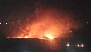 في محاولة يائسة لدعم الإرهابيين.. كيان الاحتلال يطلق عدة صواريخ على محيط مطار المزة