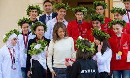 السيدة أسماء الأسد تستقبل الفائزين الأوائل بالاولمبياد العلمي