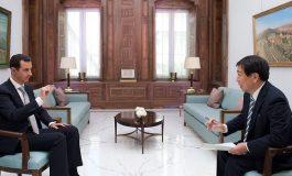 """الرئيس الأسد لقناة """"تي بي إس"""" اليابانية: أي شيء سيناقش في """"أستانة"""" ينبغي أن يستند إلى الدستور"""
