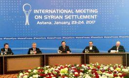 البيان الختامي لاجتماع أستانة: الالتزام بسيادة واستقلال ووحدة أراضي سورية والحل الوحيد للأزمة سيكون من خلال عملية سياسية