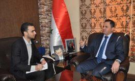 """الرفيق د. أحمد همام حيدر أمين فرع ريف دمشق للحزب في حوار مع """"البعث"""":"""