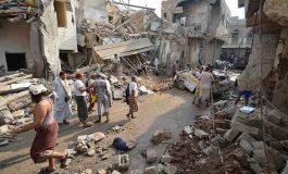 استشهاد وإصابة عشرات اليمنيين  في غارات سعودية على تعز والحديدة