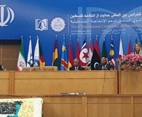 انطلاق المؤتمر الدولي لدعم الانتفاضة الفلسطينية في طهران عباس: سورية كانت وستبقى الداعم الأساسي لنضال الشعب الفلسطيني