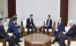 الرئيس الأسد لوفد من مجلس الدوما الروسي: الأوضاع في سورية تسير بالمنحى الذي ترغب به كل من سورية وروسيا