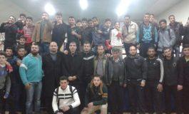 مستويات جيدة في كيك بوكسينغ ريف دمشق