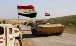 العلم العراقي يرفرف فوق الصابونية في الموصل