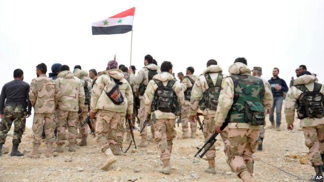 الجيش يسيطر على جبال المزار والمستديرة ومستودعات النقل  بريف تدمر.. ويقضي على 34 إرهابياً في درعا البلد
