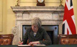 بريطانيا تطلق عملية خروجها من الاتحاد الأوروبي