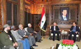 الهلال يلتقي وفد الجبهة الشعبية العربية للوحدة: سورية ستبقى الداعم الأول للمشروع العروبي التحرري