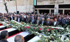 حلب تشيّع سبعة شهداء من لواء البعث ارتقوا دفاعاً عن الوطن