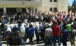 وقفتان في حماة ودرعا تضامناً مع أهالي كفريا والفوعة..  وجولة ميدانية على مراكز الإقامة المؤقتة في جبرين