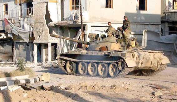 دي ميستورا: اجتماع طهران عزّز اتفاق وقف القتال بشكل فعّال  الجيش يدك مقرات ومستودعات أسلحة للتكفيريين في درعا  ويـقـضـي عـلـى الـعـشـرات مـنـهـم في ريفـي حـمـص وحـمـاة