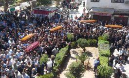 محافظة ريف دمشق تتسلم جثامين 5 شهداء مختطفين من معلولا