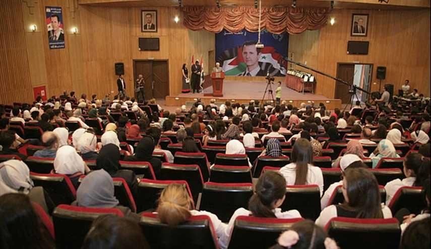 جامعة دمشق تحتفل بتخريج دفعة جديدة من الطلبة العرب
