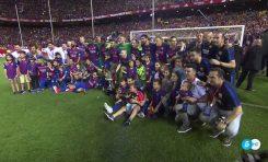 انريكي يودع برشلونة