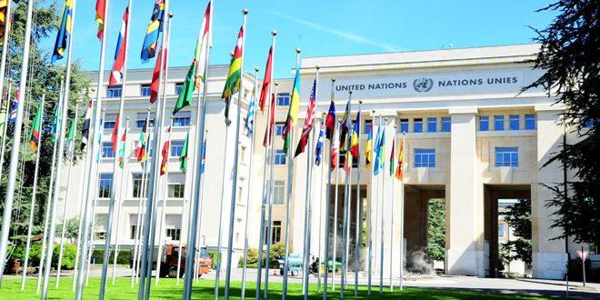 جلسة محادثات بين وفد الجمهورية العربية السورية ودي ميستورا في جنيف