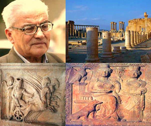 أيقونة تدمر الشهيد خالد الأسعد  في ندوة بثقافي حمص