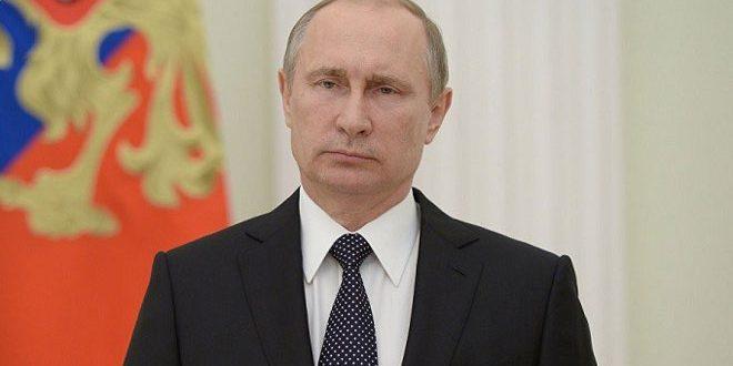 بوتين: روسيا مستعدة لزيادة التعاون مع الشركاء في مكافحة قوى الإرهاب