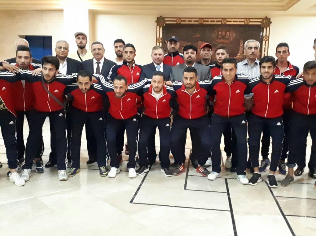 قيادة الحزب تكرّم كرة الحرفيين في حلب