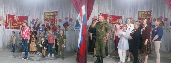 الاحتفال بذكرى انتصار روسيا على النازية في حمص