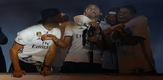 ريال مدريد يحتفل بلقب الدوري الإسباني