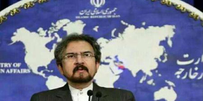 إيران:استهداف الإرهابيين بديرالزور تم بالتنسيق مع الحكومة السورية