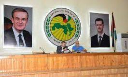 الهيئة المركزية لدعم أسر الشهداء بحلب تناقش مراحل إنجاز المشاريع التنموية