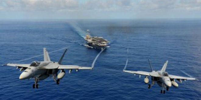 """عيوب مقاتلات """"اف ايه 18"""" تقتل أربعة طيارين أمريكيين"""