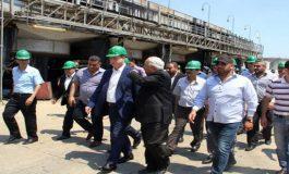 اللجنة الوزارية المكلفة تتبع تنفيذ المشاريع في طرطوس تتفقد مصفاة بانياس