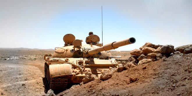 الجيش العربي السوري يسيطر على محمية التليلة بريف تدمر