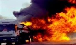 265  قتيلاً وجريحاً جراء احتراق ناقلة وقود شرق باكستان