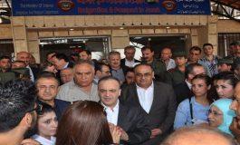 الوفد الحكومي يتفقد محطة تحويل جامعة البعث ومعبر الدبوسية ومرافق حي الوعر