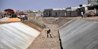 مشاريع مائية لإرواء مناطق شرق حمص