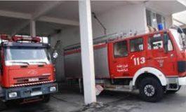 فرق إطفاء وشق طرق نارية لمكافحة الحرائق