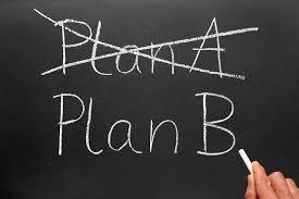 التحوّل من الخطة أ إلى الخطة ب