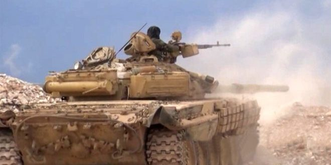 الجيش العربي السوري يسيطر على حقل الديلعة النفطي بريف الرقة