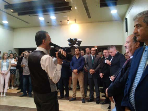 """توقيع كتاب """"الحرب على سورية""""  في المركز الثقافي البلغاري"""