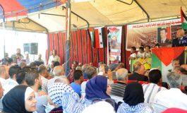 مهرجان جماهيري دعماً للشعب الفلسطيني: المقدسات خط أحمر