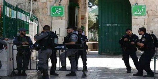 الاحتلال الإسرائيلي يغلق المسجد الأقصى لليوم الثالث على التوالي