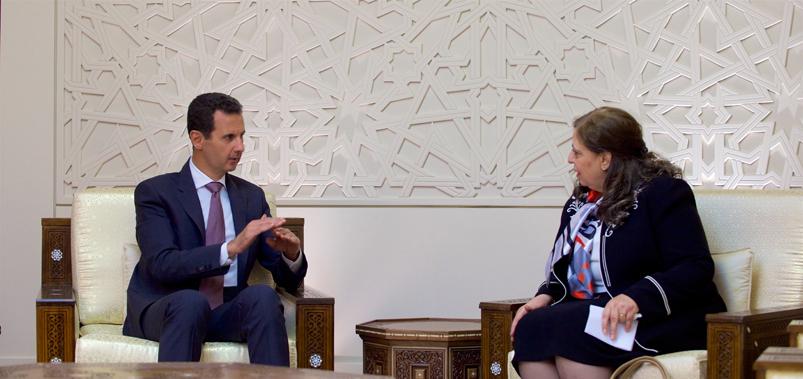 الرئيس الأسد لرئيس الهيئة المركزية للرقابة والتفتيش: استئصال مظاهر الخلل .. وإنفاذ القانون على الجميع دون استثناء