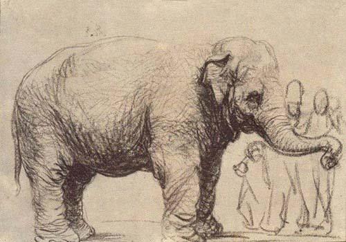 """""""فيل رامبرنت"""" الرمزية الفنية كوثيقة تاريخية"""