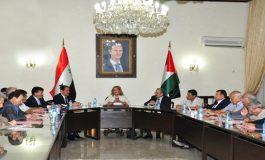 """خطط """"إعادة الإعمار"""" في لقاء مكتب المنظمات الشعبية مع المهندسين"""