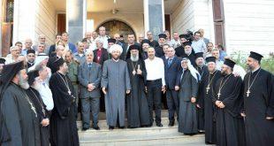 المفتي حسون لرجال الدين الإسلامي والمسيحي في حماة: تعزيز الانتماء للوطن ونشر المسامحة والمحبة والإخاء