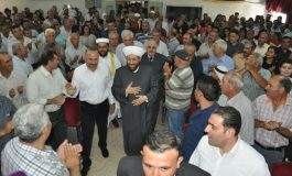 المفتي حسون يلتقي الفعاليات الدينية والأهلية في حماة: تطوير الخطاب الديني لتحصين الشباب من الفكر المتطرّف